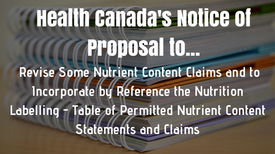 nutrient content claims